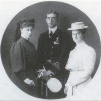 Grand Duchess Elisaveta Feodorovna, Grand Duke Dmitri Pavlovich, Grand Duchess Maria Pavlovna.