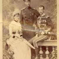Grand Duchess Elisaveta Feodorovna, Grand Duke Sergei Alexandrovich, Grand Duke Pavel Alexandrovich.