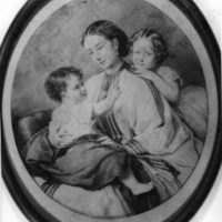 Grand Duchess of Hesse Alice with daughters  Victoria and  Elizabeth