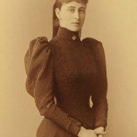 Her Imperial Highness Grand Duchess Elizabeth Feodorovna. 1892
