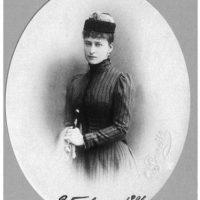 Grand Duchess Elizabeth Feodorovna. 1890