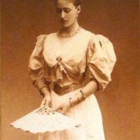 Grand Duchess Elizabeth Feodorovna. 1893